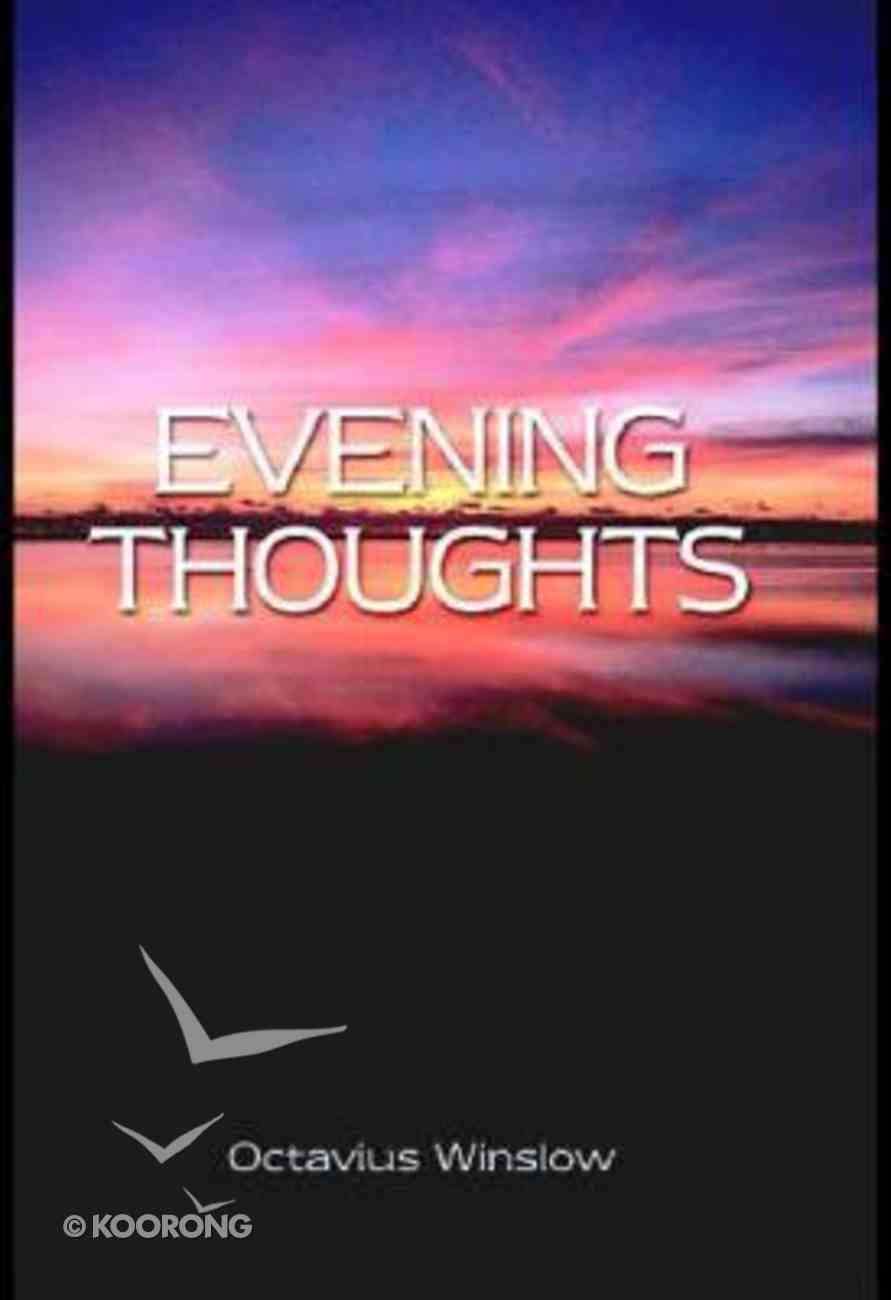 Evening Thoughts Hardback