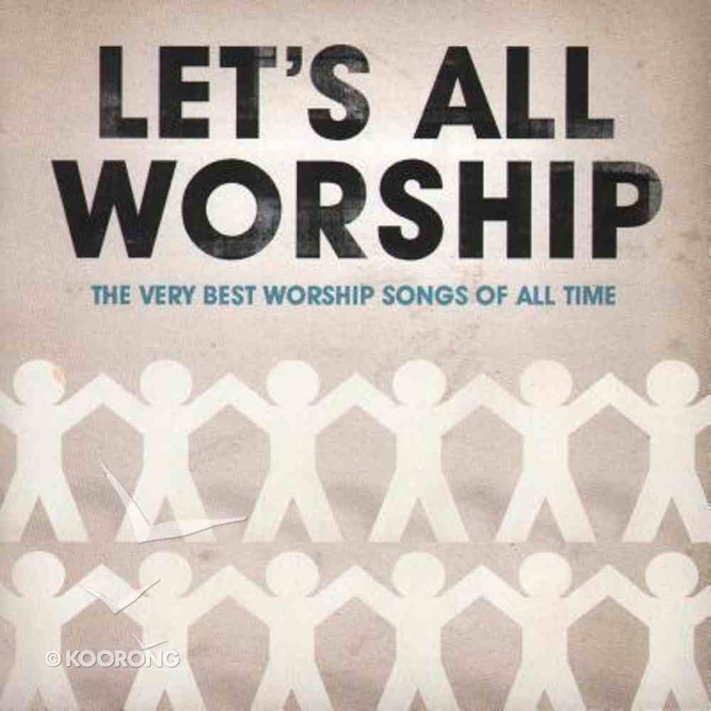 Let's All Worship: Very Best Worship Songs Double CD CD