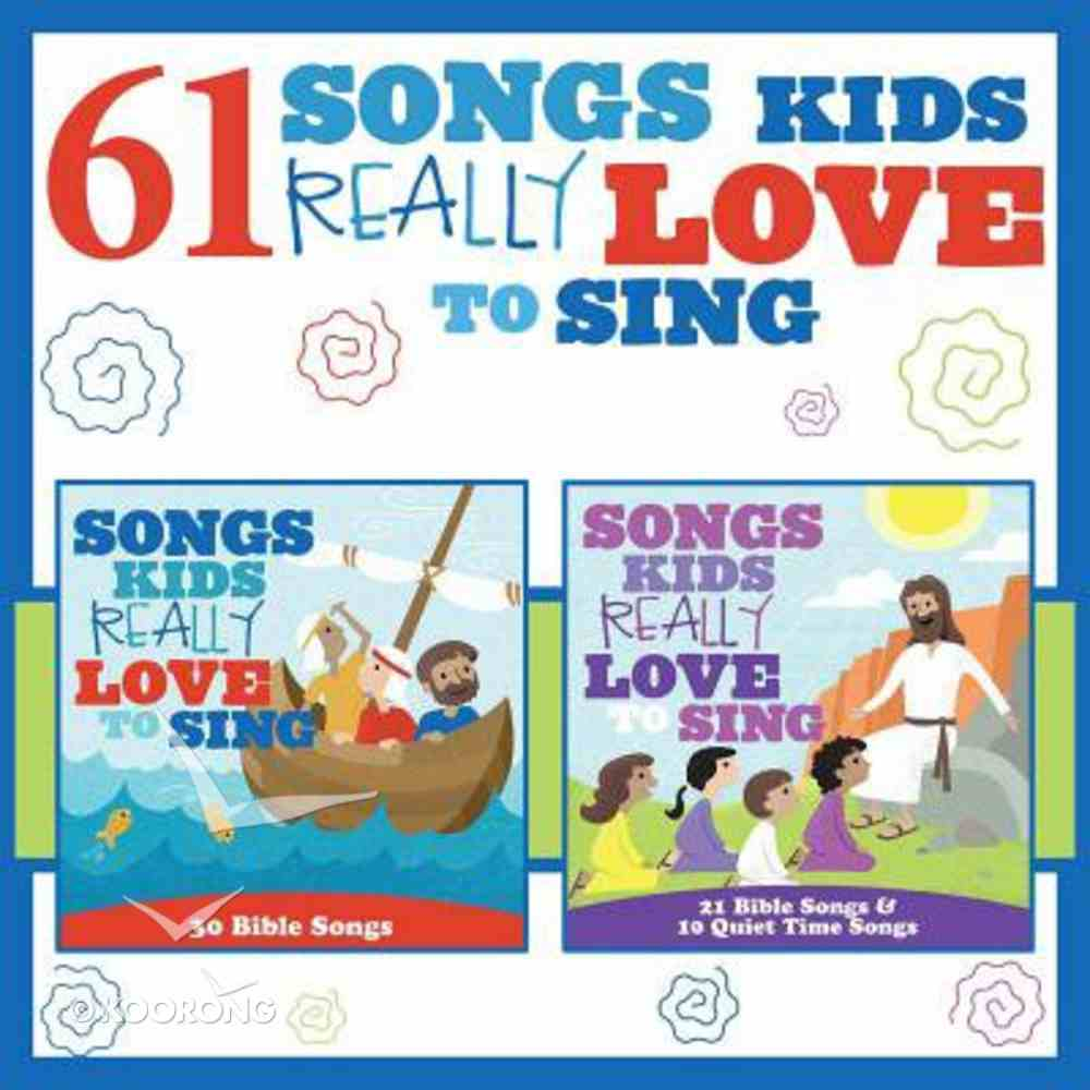 61 Songs Kids Really Love to Sing Double CD CD