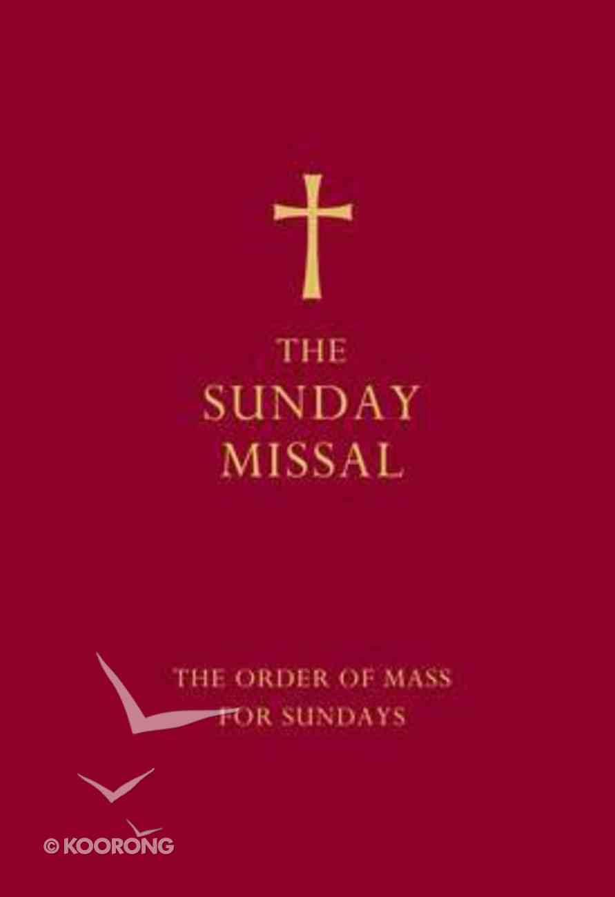 The Sunday Missal (Red) Hardback