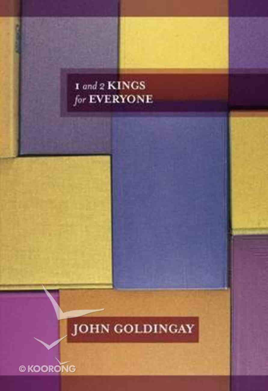 1 and 2 Kings For Everyone (Old Testament Guide For Everyone Series) Paperback