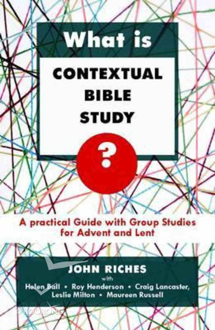 What is Contextual Bible Study? Paperback