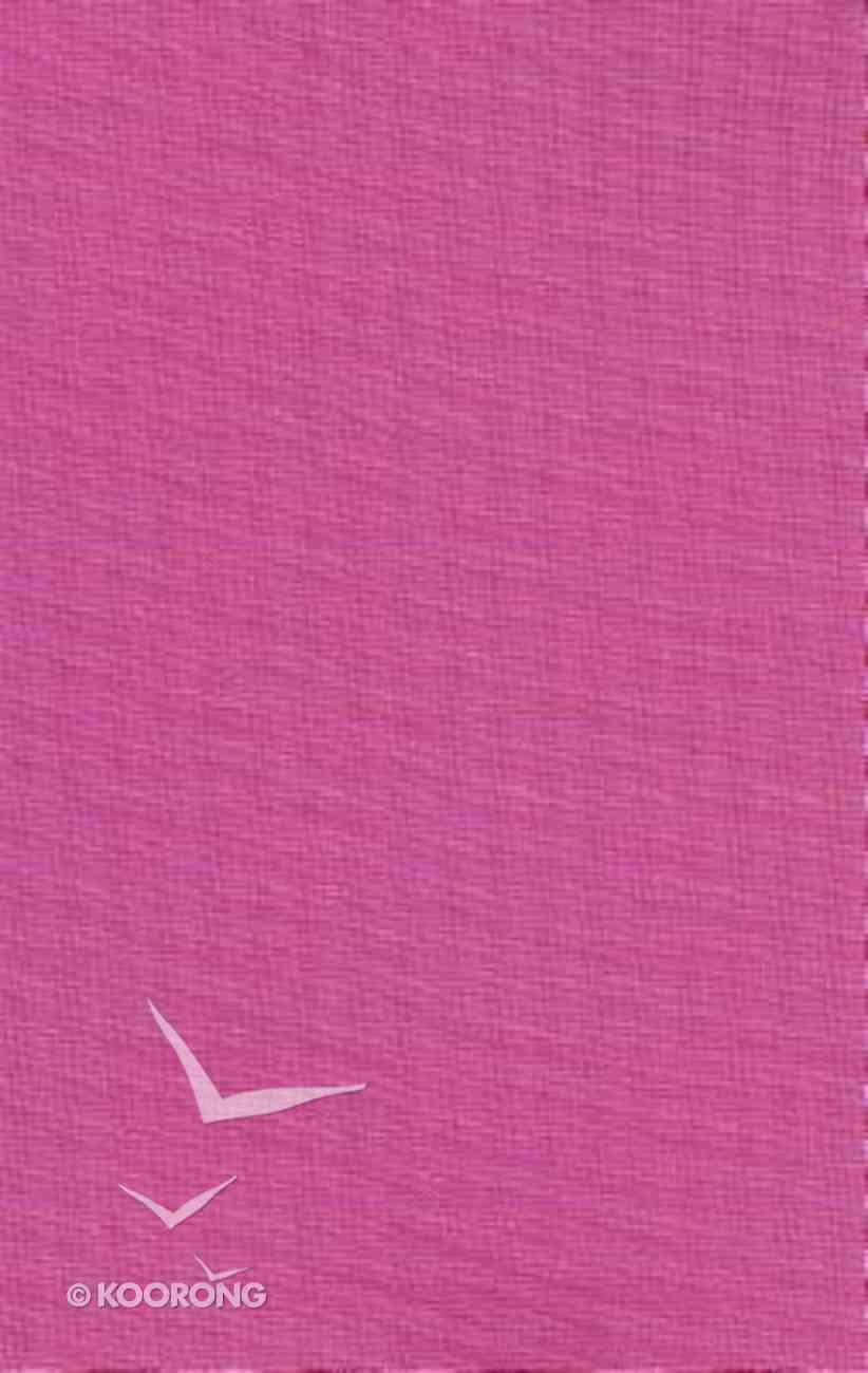 NIV Sleek & Chic Posh Pink Bible (Red Letter Edition) Flexi Back