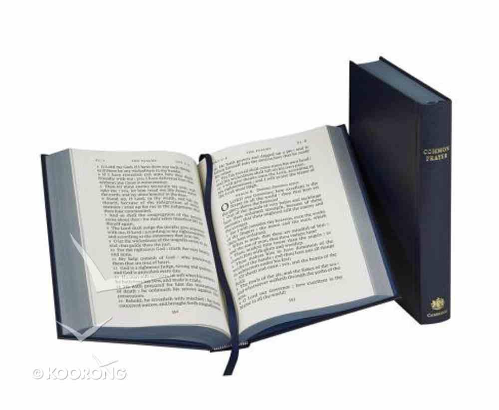 Book of Common Prayer Desk Edition Dark Blue Imitation Leather