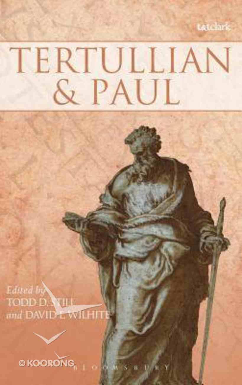 Tertullian and Paul Hardback