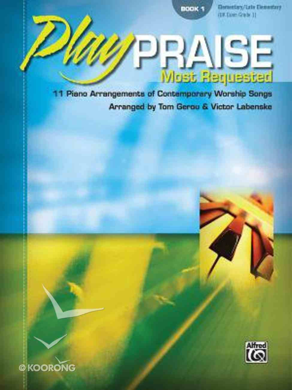 Play Praise #01: Most Requested (Music Book) Paperback