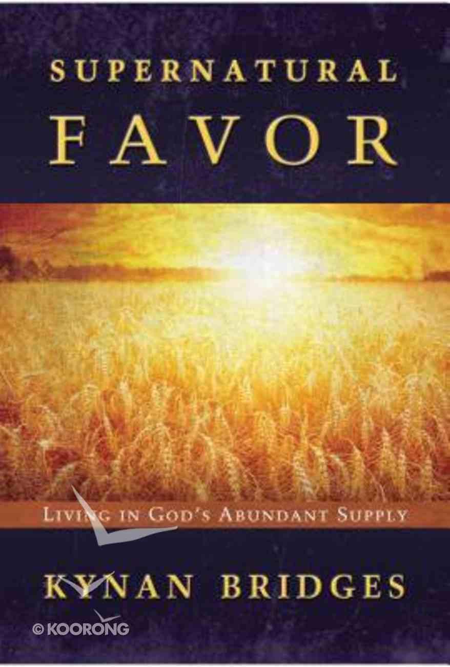 Supernatural Favor Paperback
