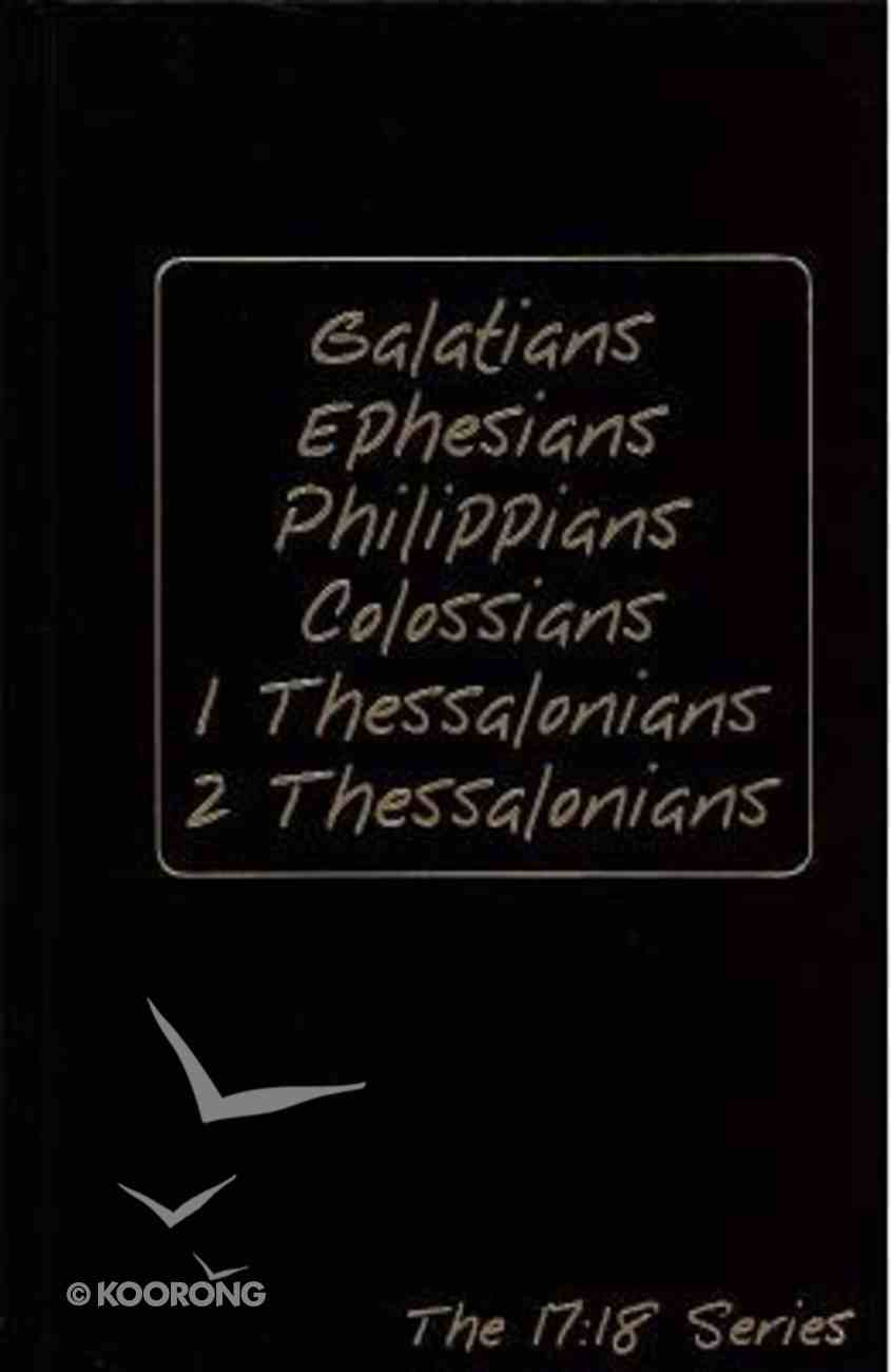 Journible 17: 18  Galatians - 2 Thessalonians (The 17 18 Series) Hardback