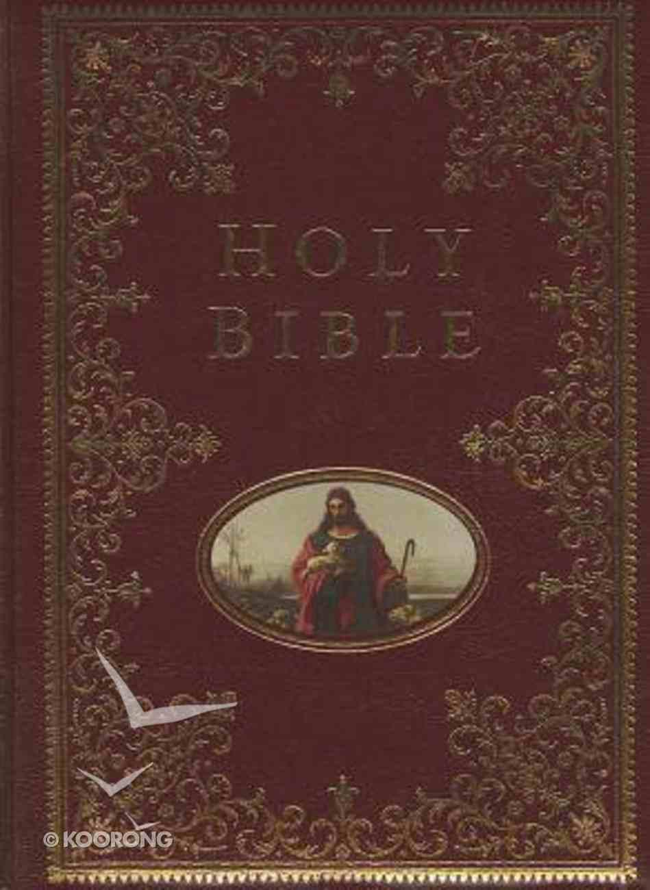 NKJV Providence Collection Family Bible (Black Letter Edition) (Indexed) Hardback