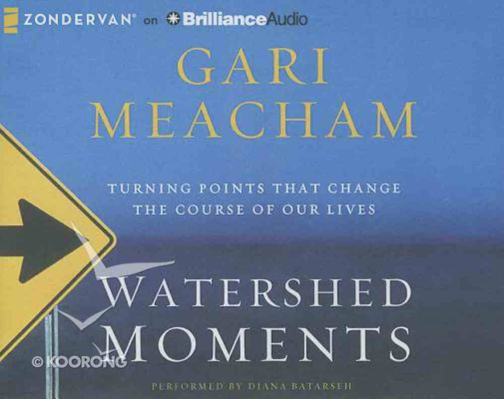 Watershed Moments (Unabridged, 8 Cds) CD