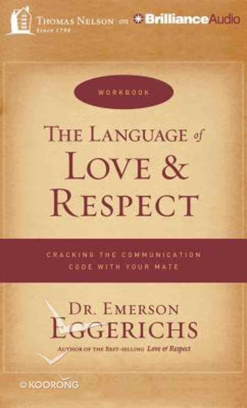 The Language of Love & Respect (Unabridged, 11 Cds) CD