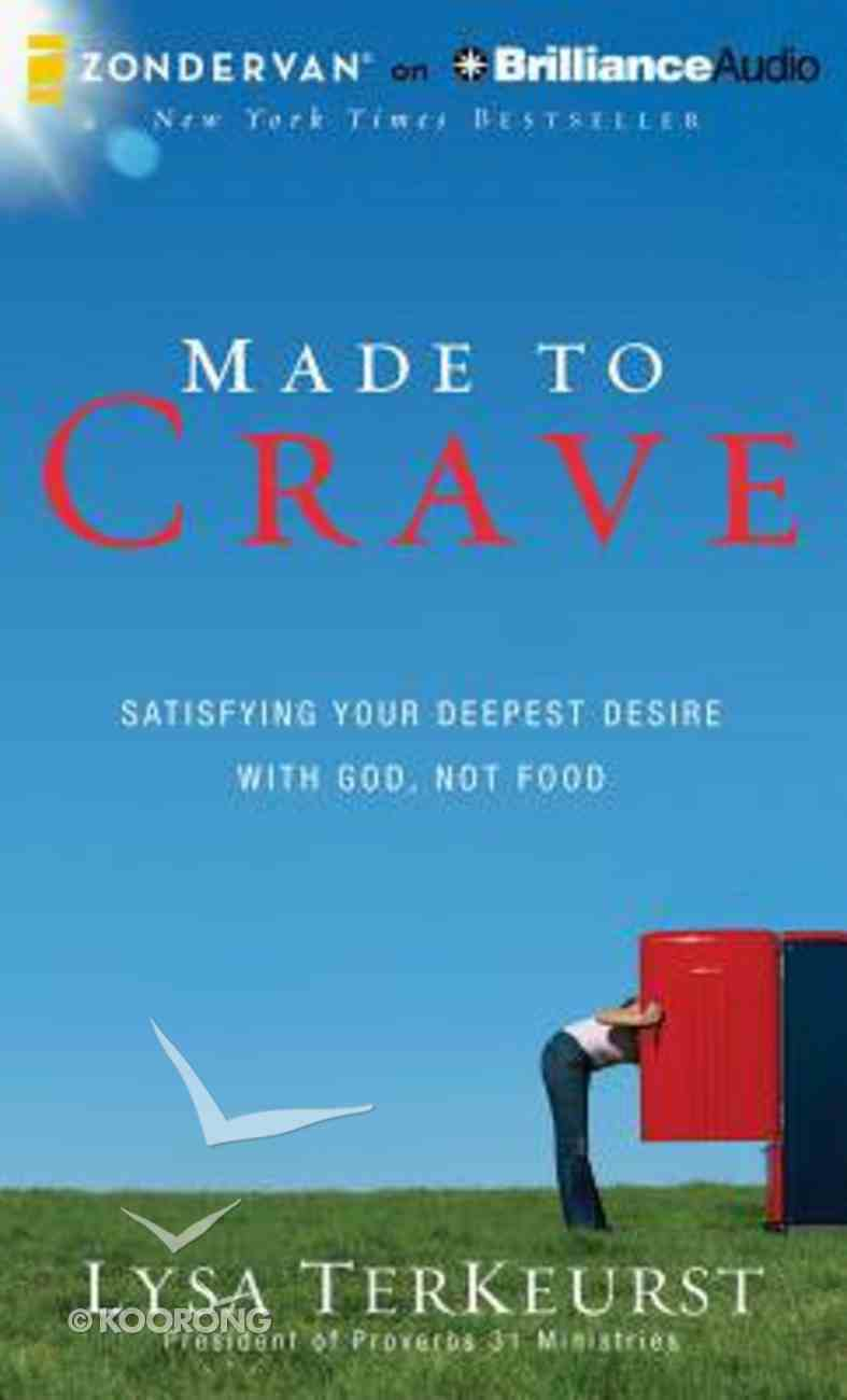 Made to Crave (Unabridged, 5 Cds) CD