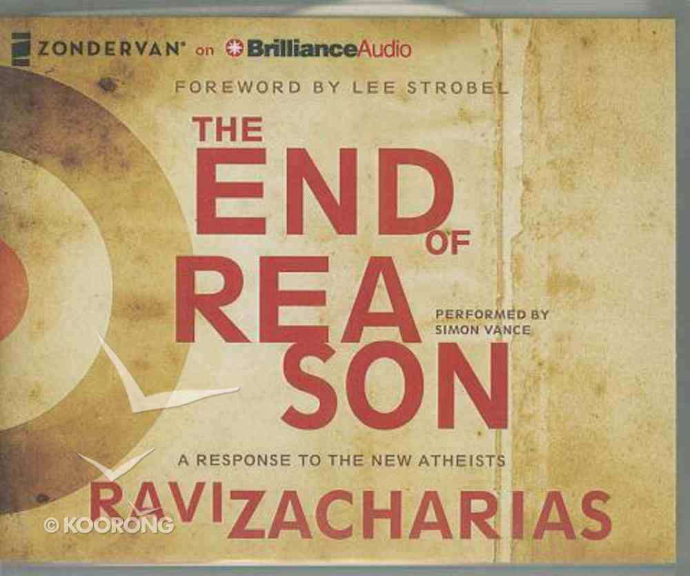 The End of Reason (Unabridged, 3 Cds) CD