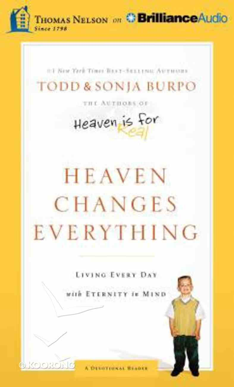 Heaven Changes Everything (Unabridged, 4 Cds) CD