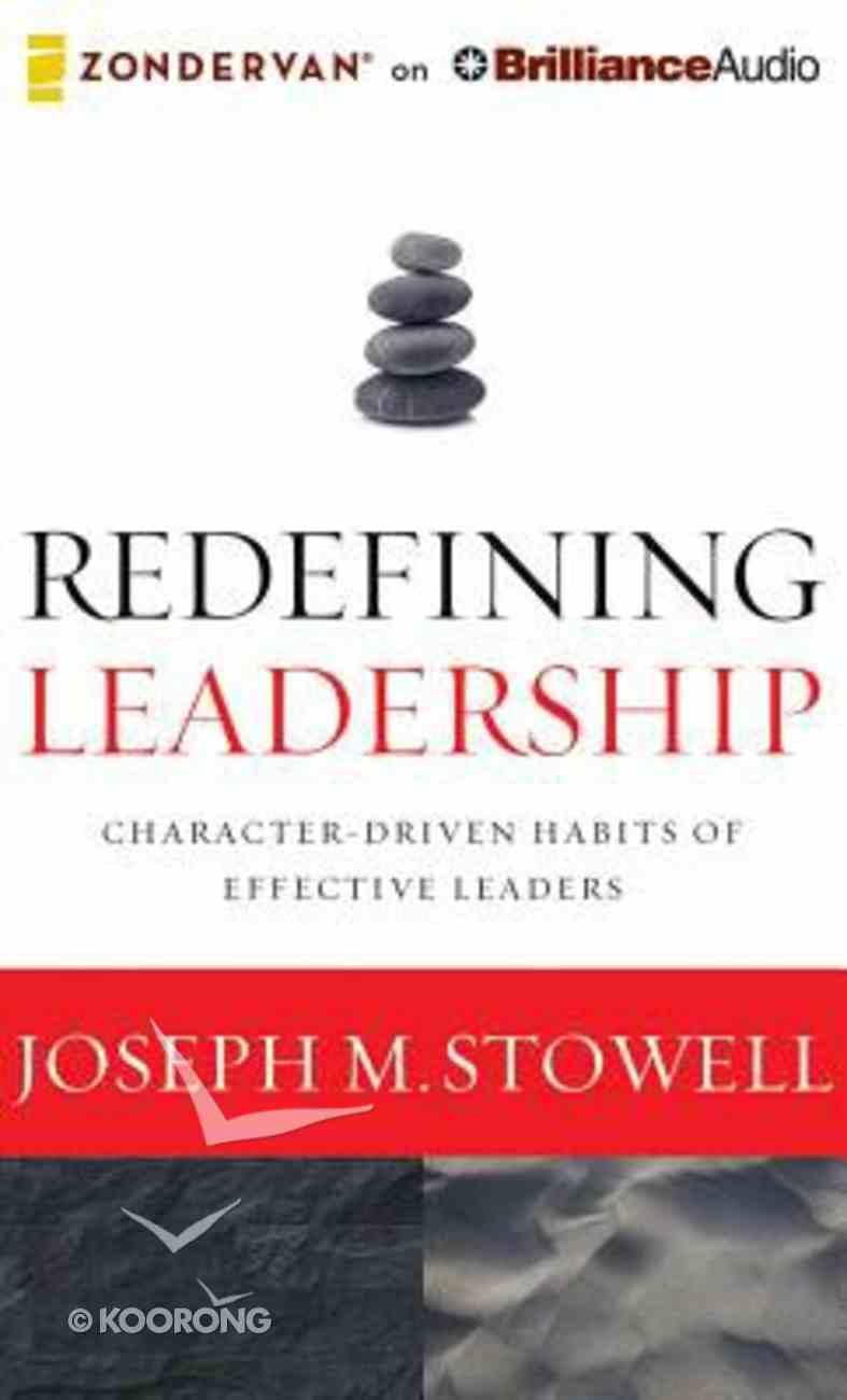 Redefining Leadership (Unabridged, 5 Cds) CD