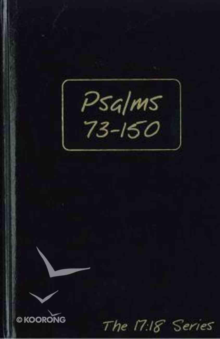 Journible 17: 18  Psalms (Volume 1) (The 17 18 Series) Hardback