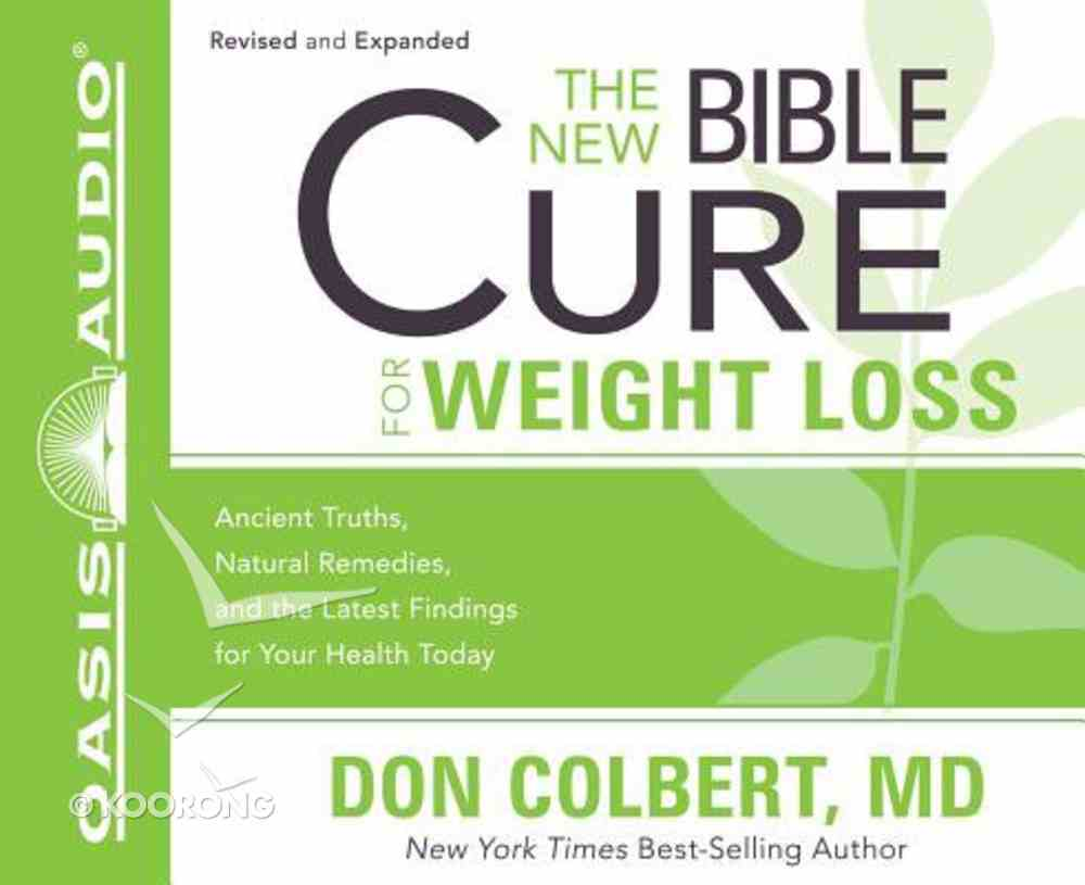 The New Bible Cure For Weight Loss (Unabridged, 4 Cds) CD