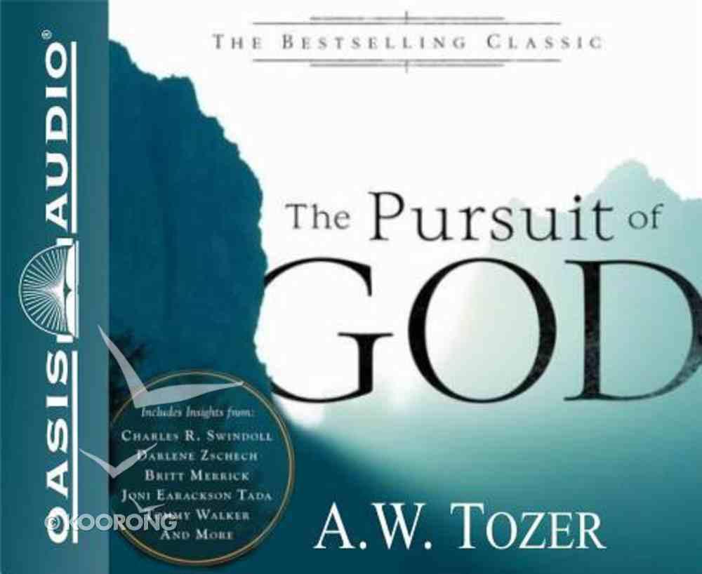 The Pursuit of God (Unabridged, 5 Cds) CD