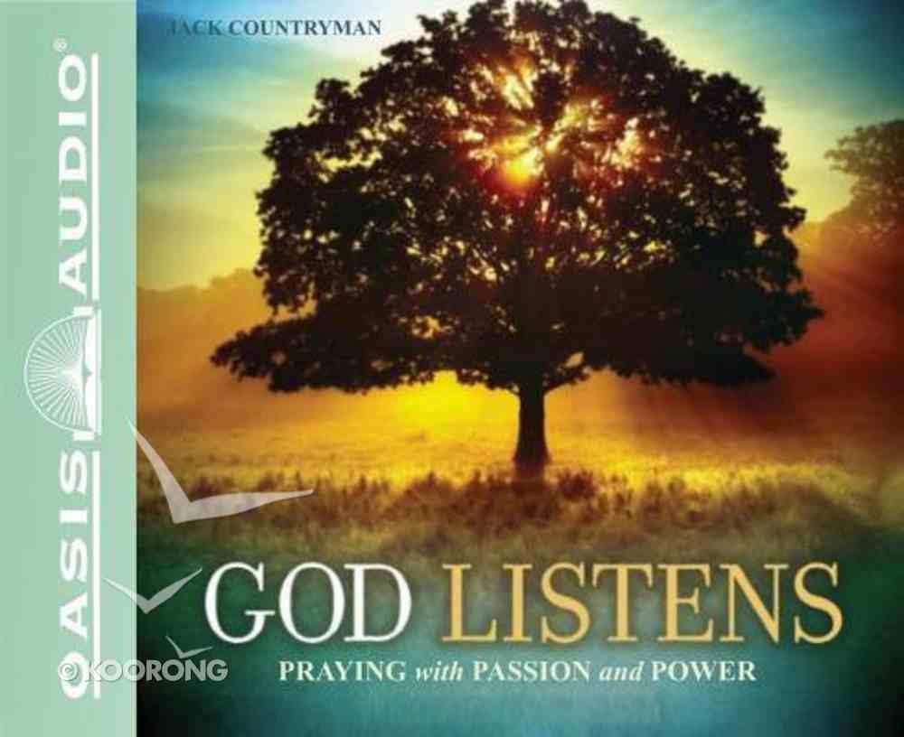 God Listens (Unabridged, 2 Cds) CD