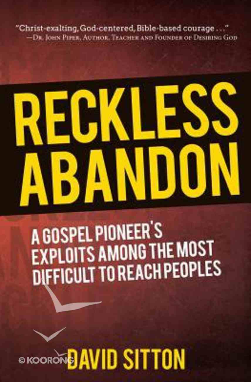 Reckless Abandon (2nd Edition) Paperback