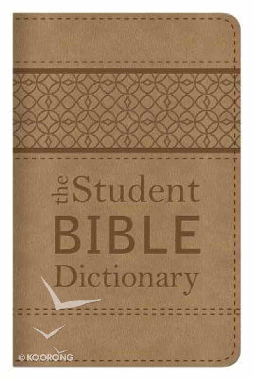 The Student Bible Dictionary Paperback