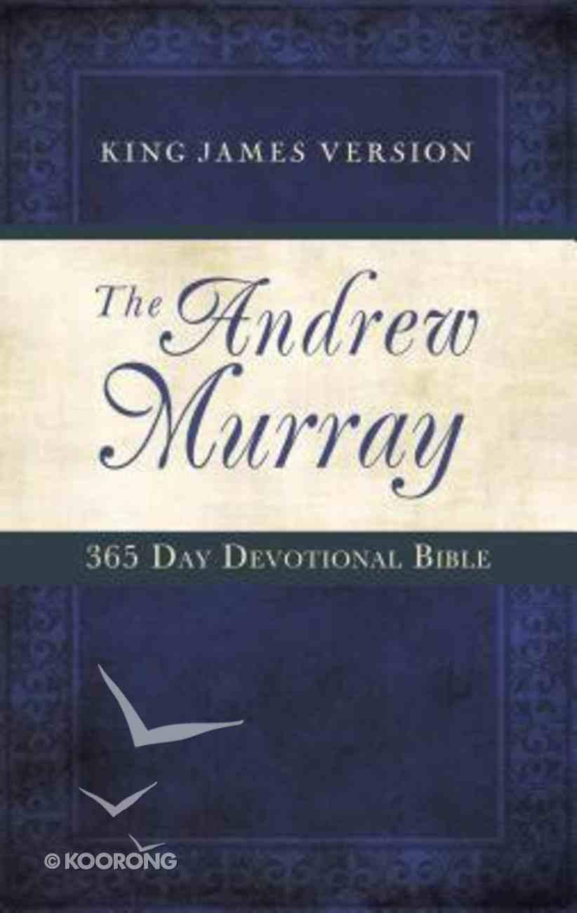 KJV Andrew Murray 365 Day Devotional Bible Paperback