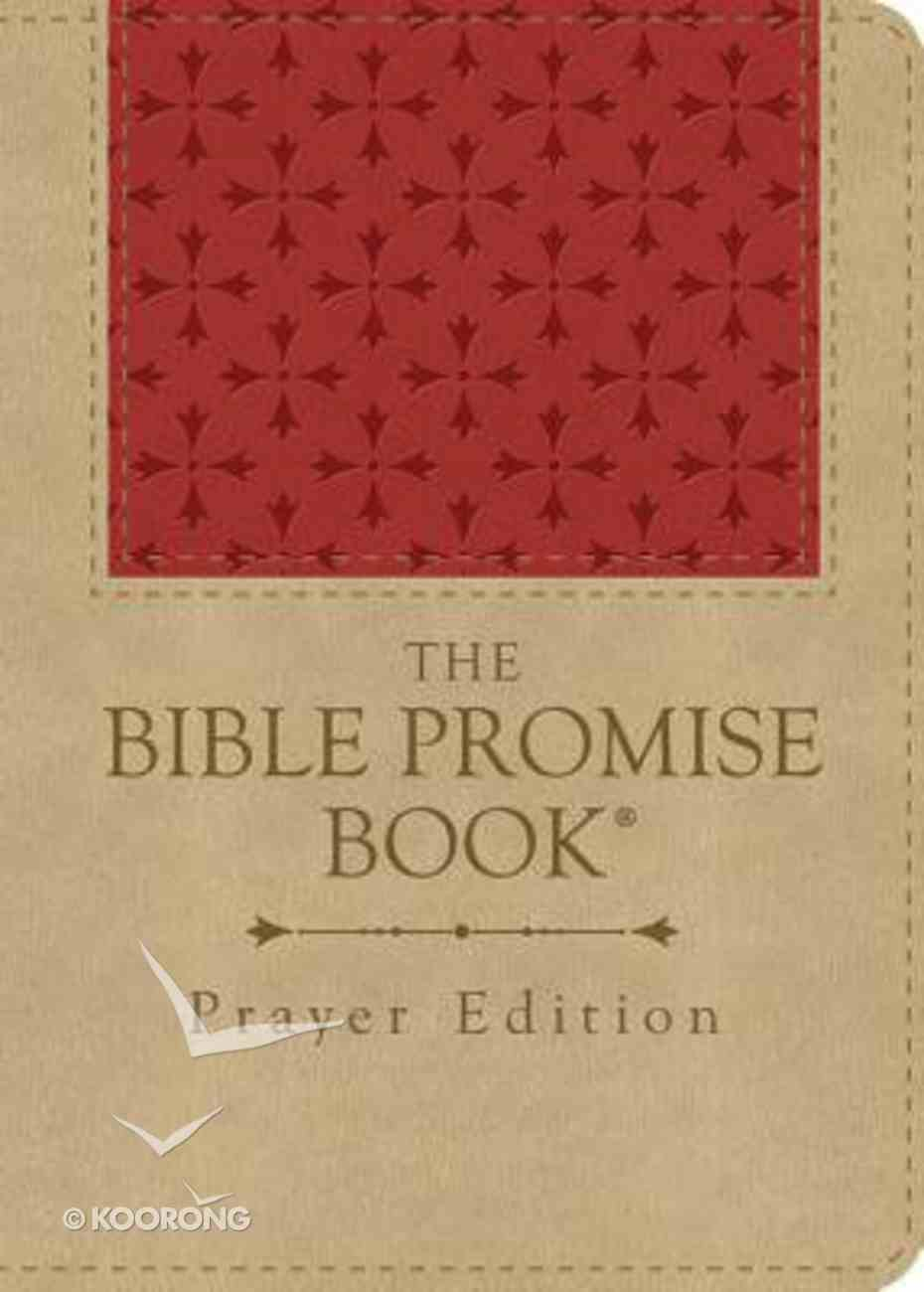 The Bible Promise Book Prayer Edition (Red/tan) Flexi Back