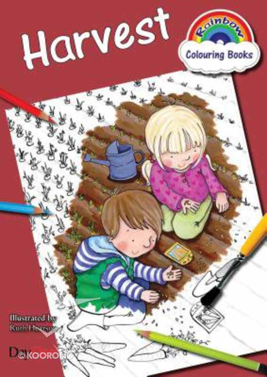 Harvest (Rainbow Colouring Book Series) Paperback