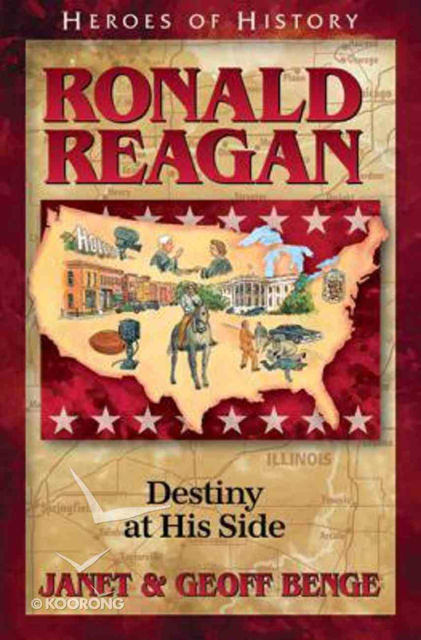 Ronald Reagan (Christian Heroes Then & Now Series) Paperback