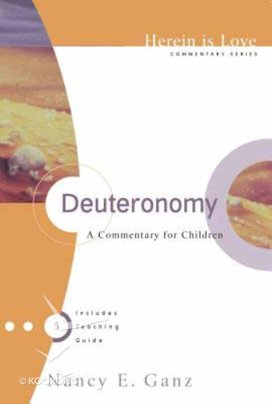 Herein is Love: Deuteronomy Paperback