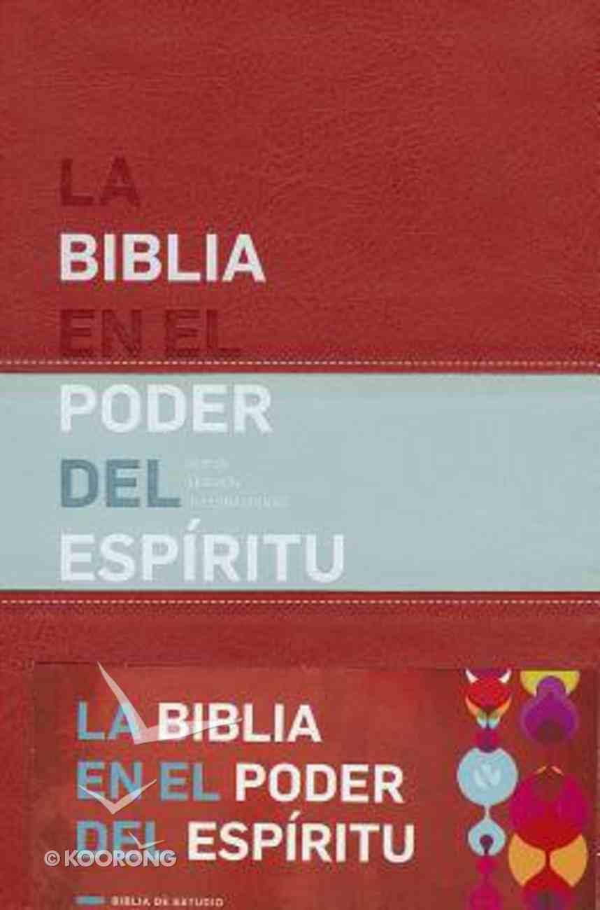 Nvi Biblia En El Poder Del Espritu (Spanish) (Bible For Personal Reflection) Imitation Leather