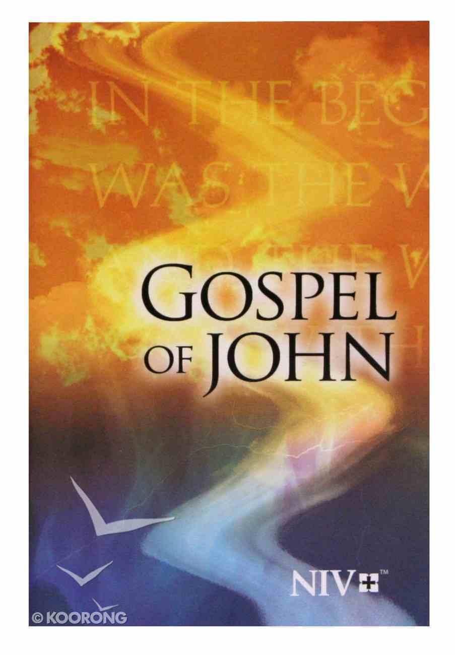 NIV Gospel of John Pocket: God's Word Paperback