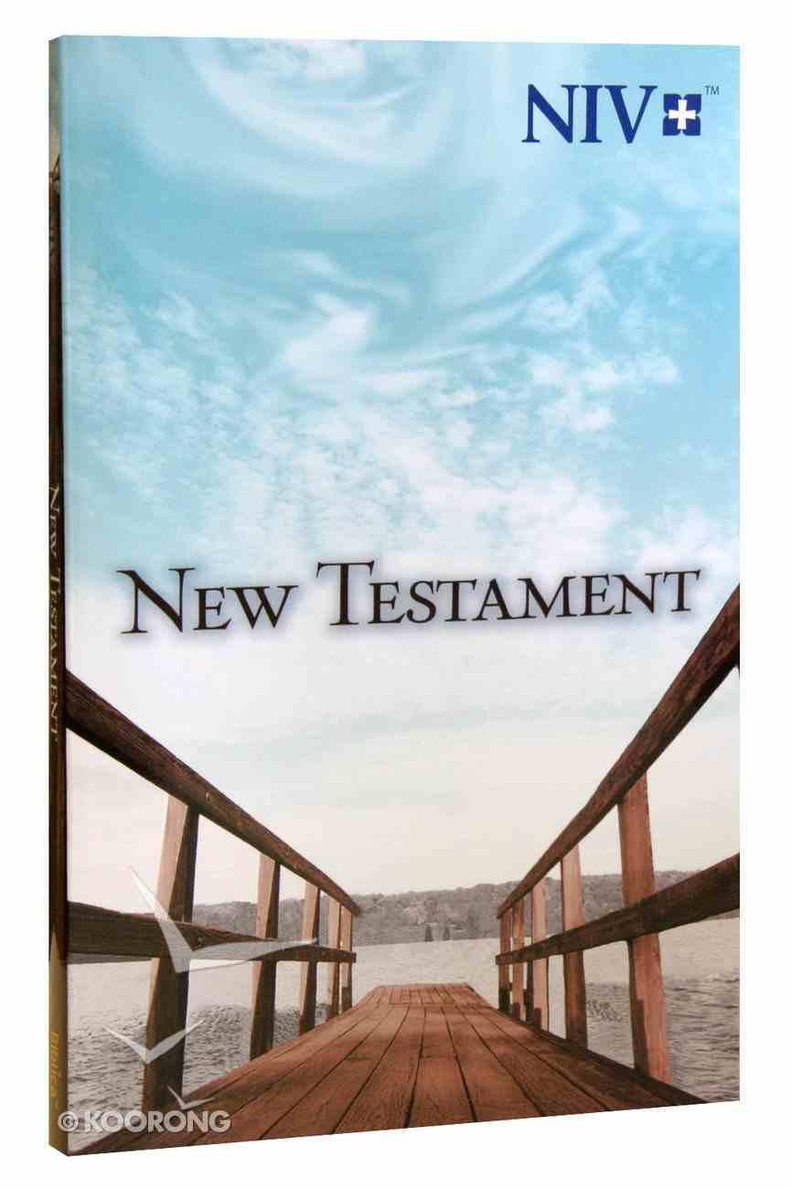 NIV Larger Type New Testament: Pier PB Large Format