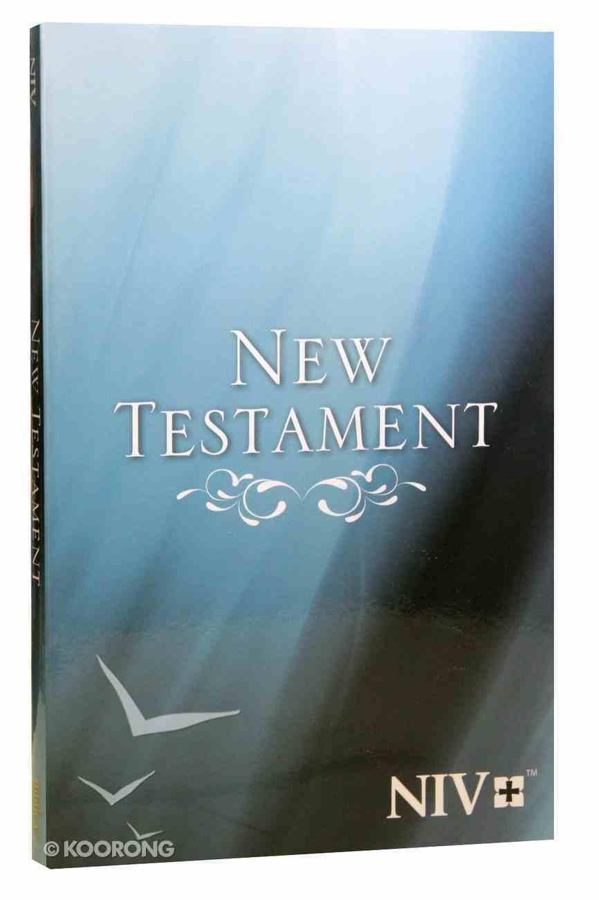NIV Larger Type New Testament: Blue PB Large Format