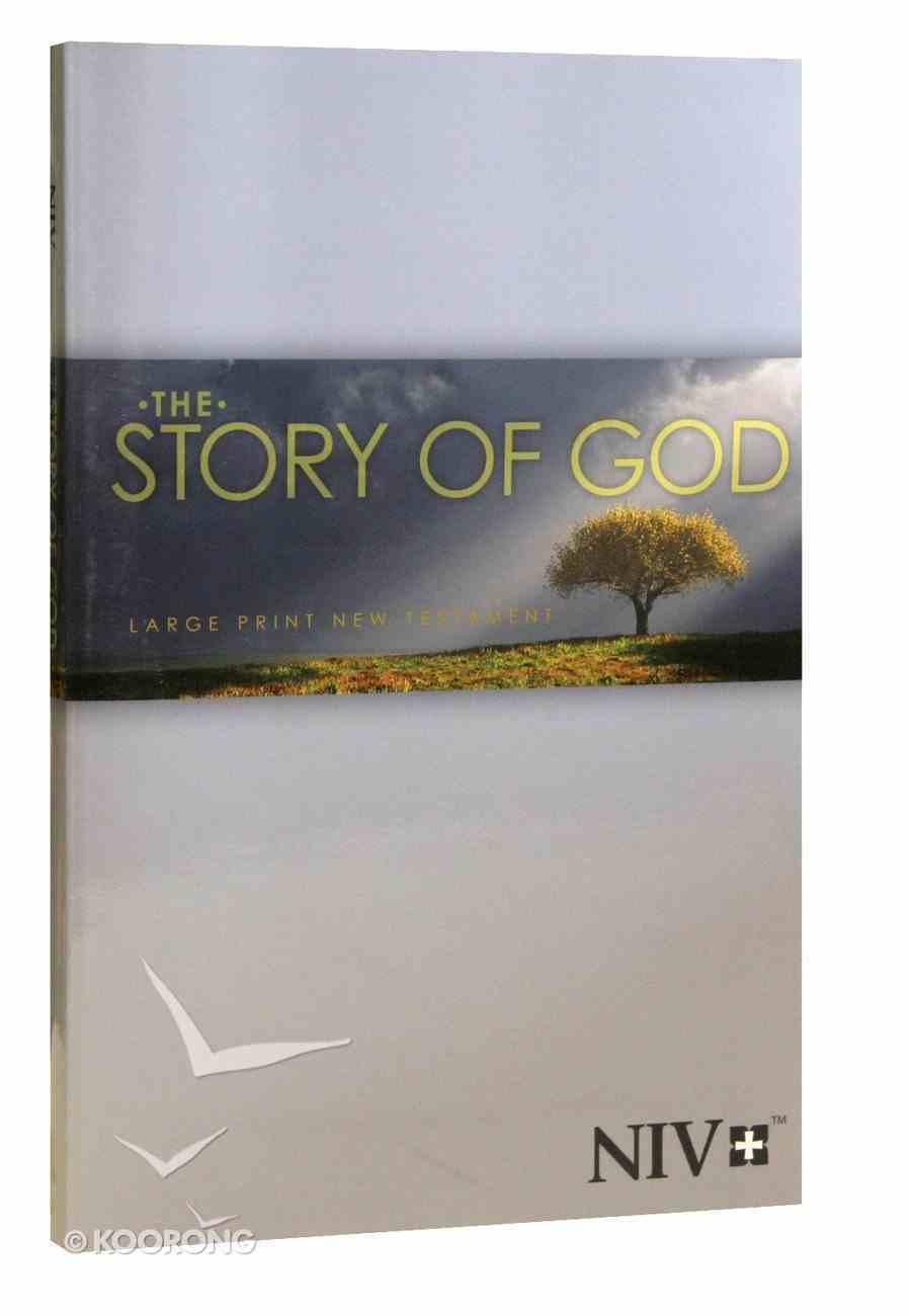 NIV Large Print New Testament Paperback