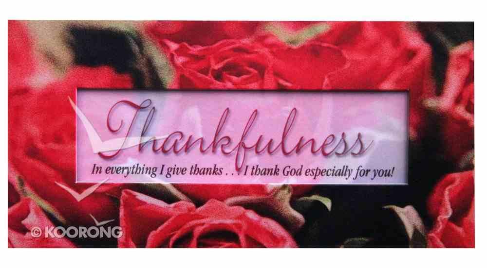 Promises Easled Magnet: Thankfulness Novelty