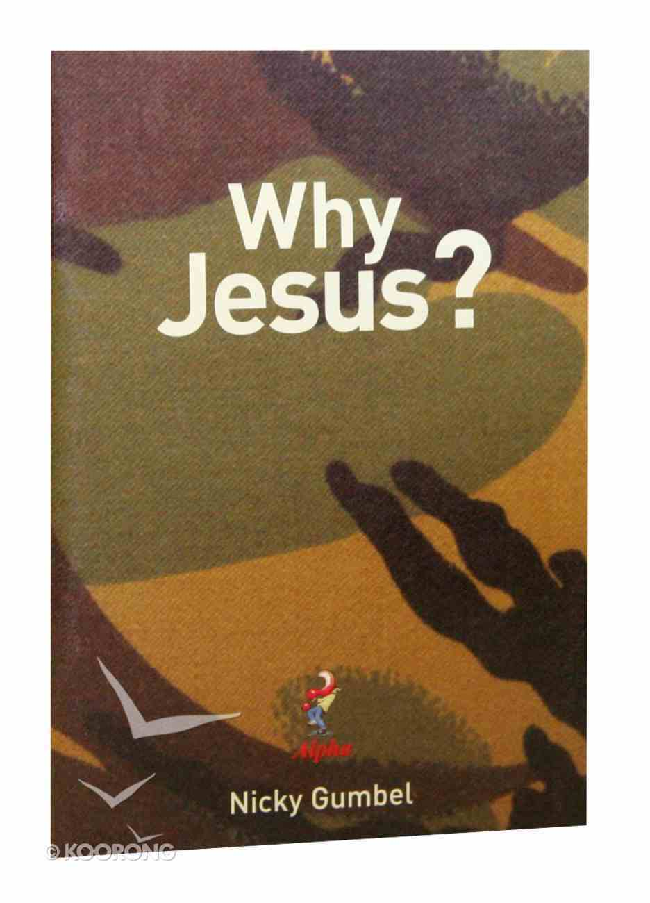Why Jesus? (Camouflage) (Alpha Course) Booklet