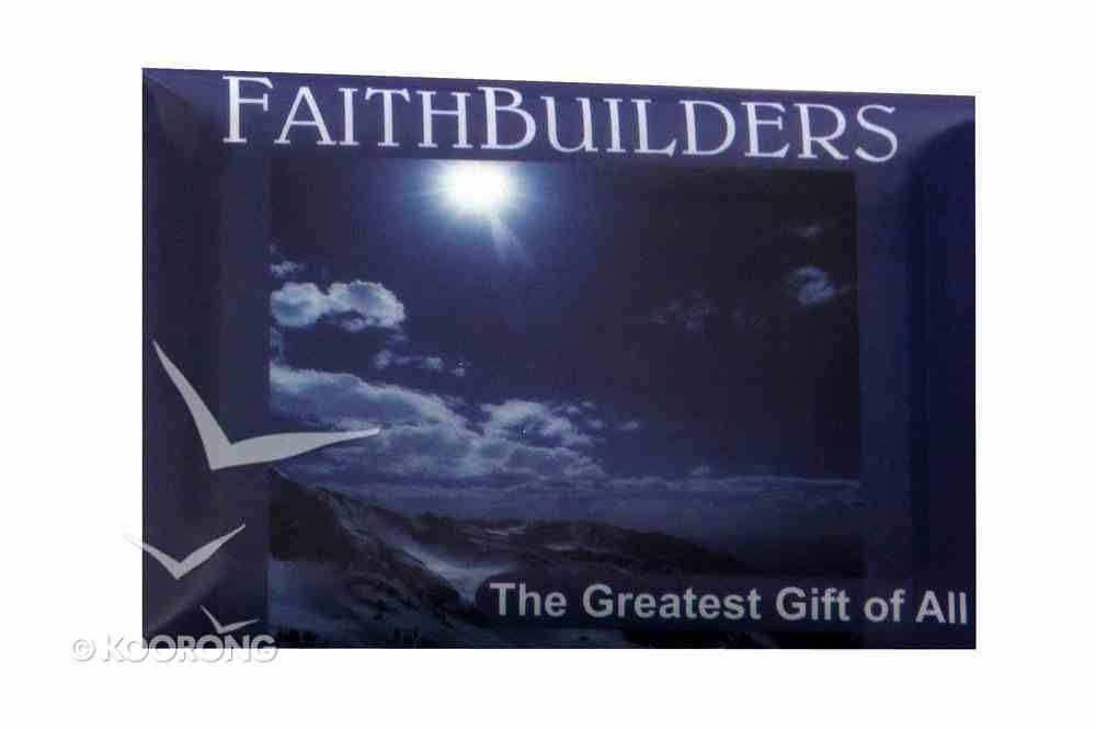 Faithbuilders: The Greatest Gift of All, Pack of 20 Cards (5 Each Of 4 Designs) Cards