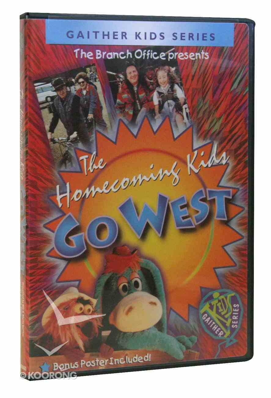 Homecoming Kids Go West (Gaither Kids Series) DVD