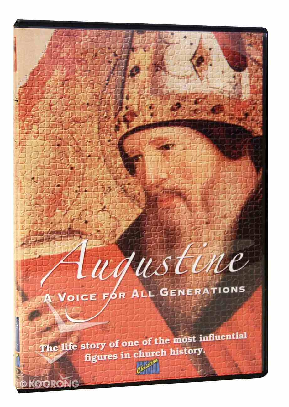 Augustine - a Voice For All Generations (55 Mins) DVD