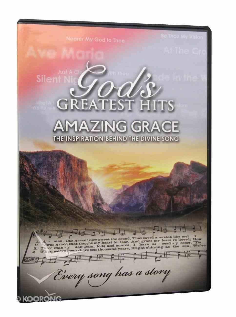 God's Greatest Hits: Amazing Grace DVD