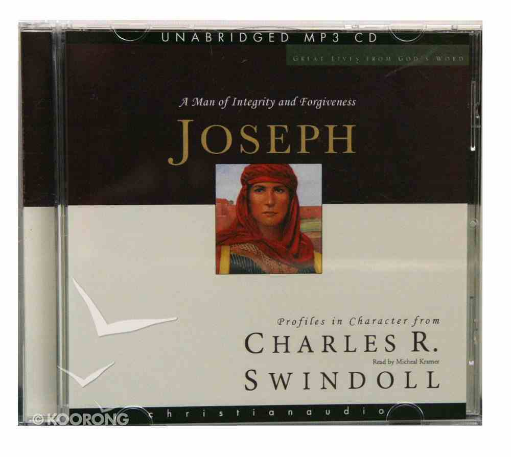 Joseph (Unabridged) (MP3) (Great Lives From God's Word Series) CD