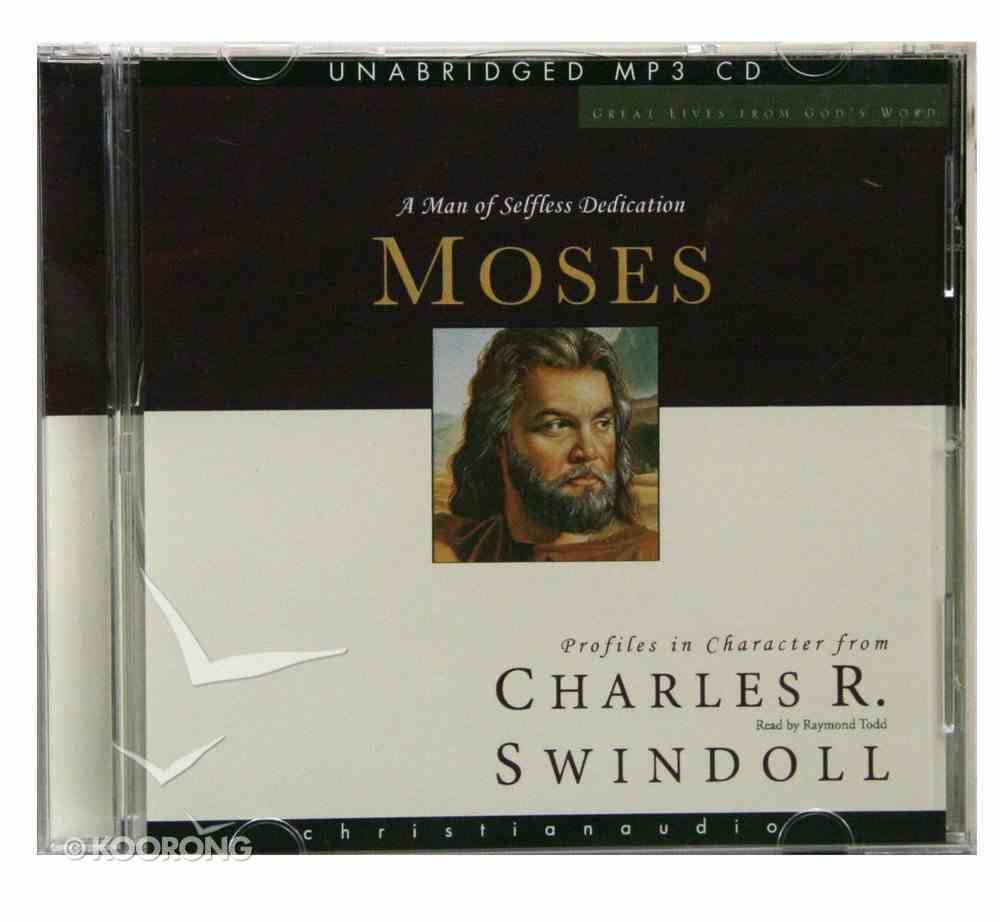 Moses (Unabridged) (MP3) (Great Lives From God's Word Series) CD