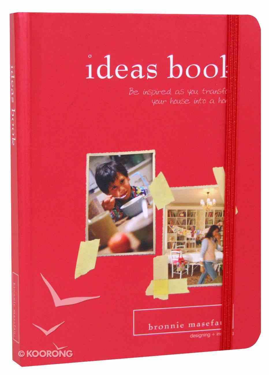 Ideas Book Hardback