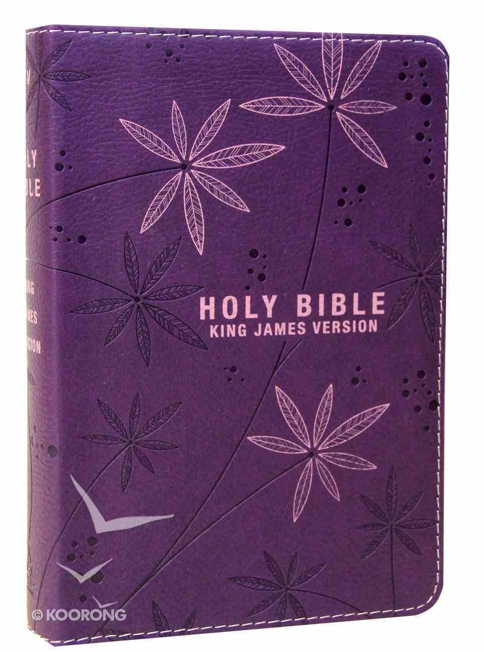 KJV Pocket Bible Purple (Red Letter Edition) Imitation Leather