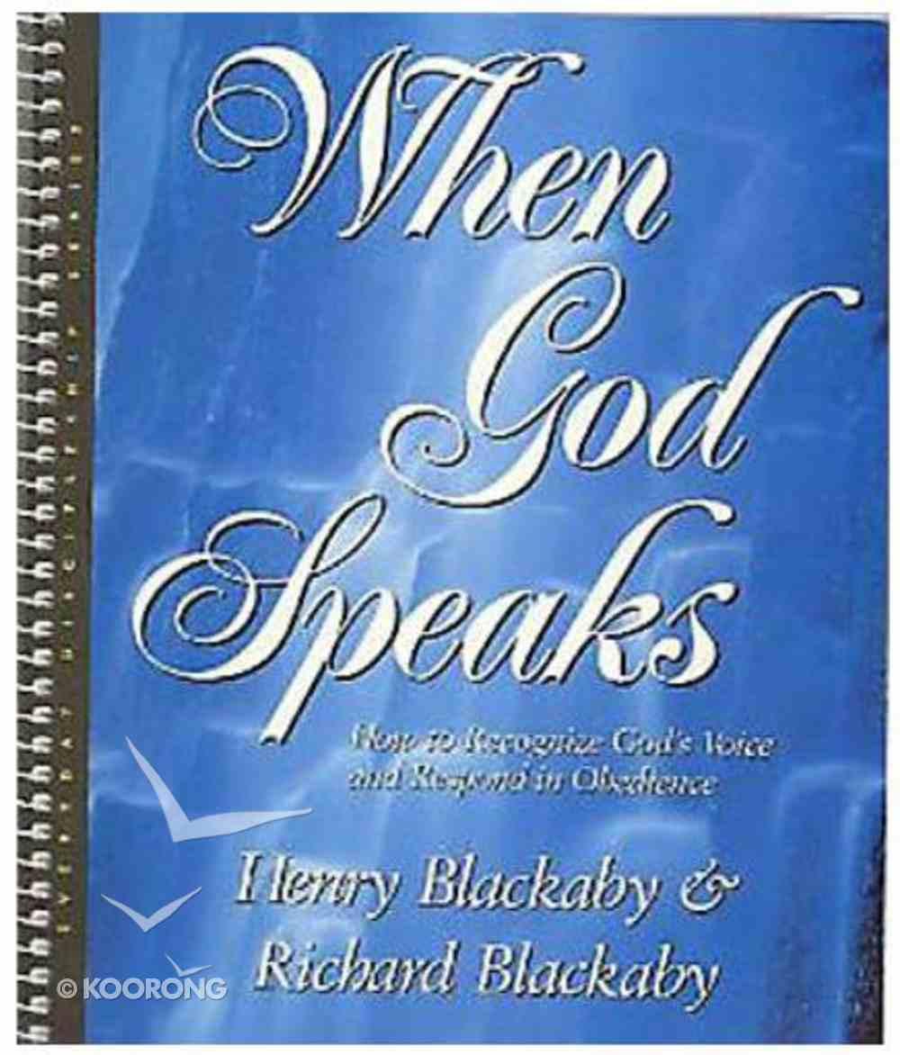 When God Speaks Spiral