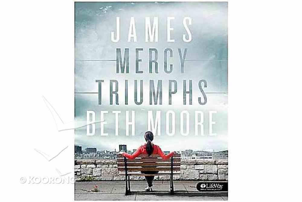 James : Mercy Triumphs (Leader Kit Including Dvd's) (Beth Moore Bible Study Series) Pack