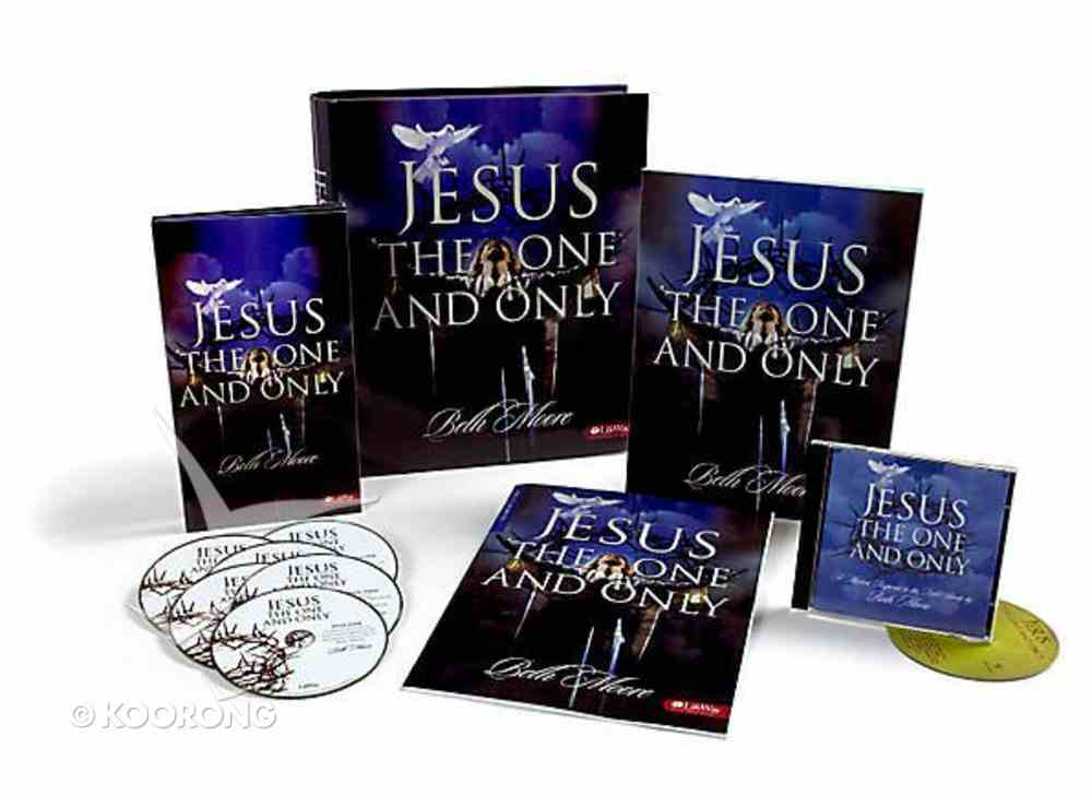 Jesus, the One and Only (Full Leader Kit) (Beth Moore Bible Study Series) Pack