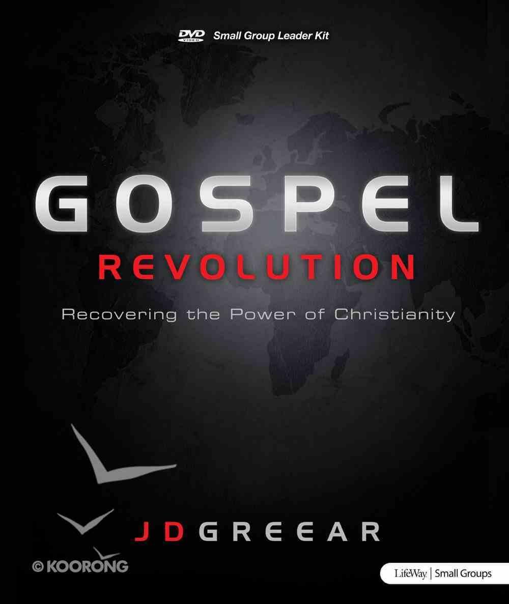 Gospel Revolution: Recovering the Power of Christianity Leader Kit Pack