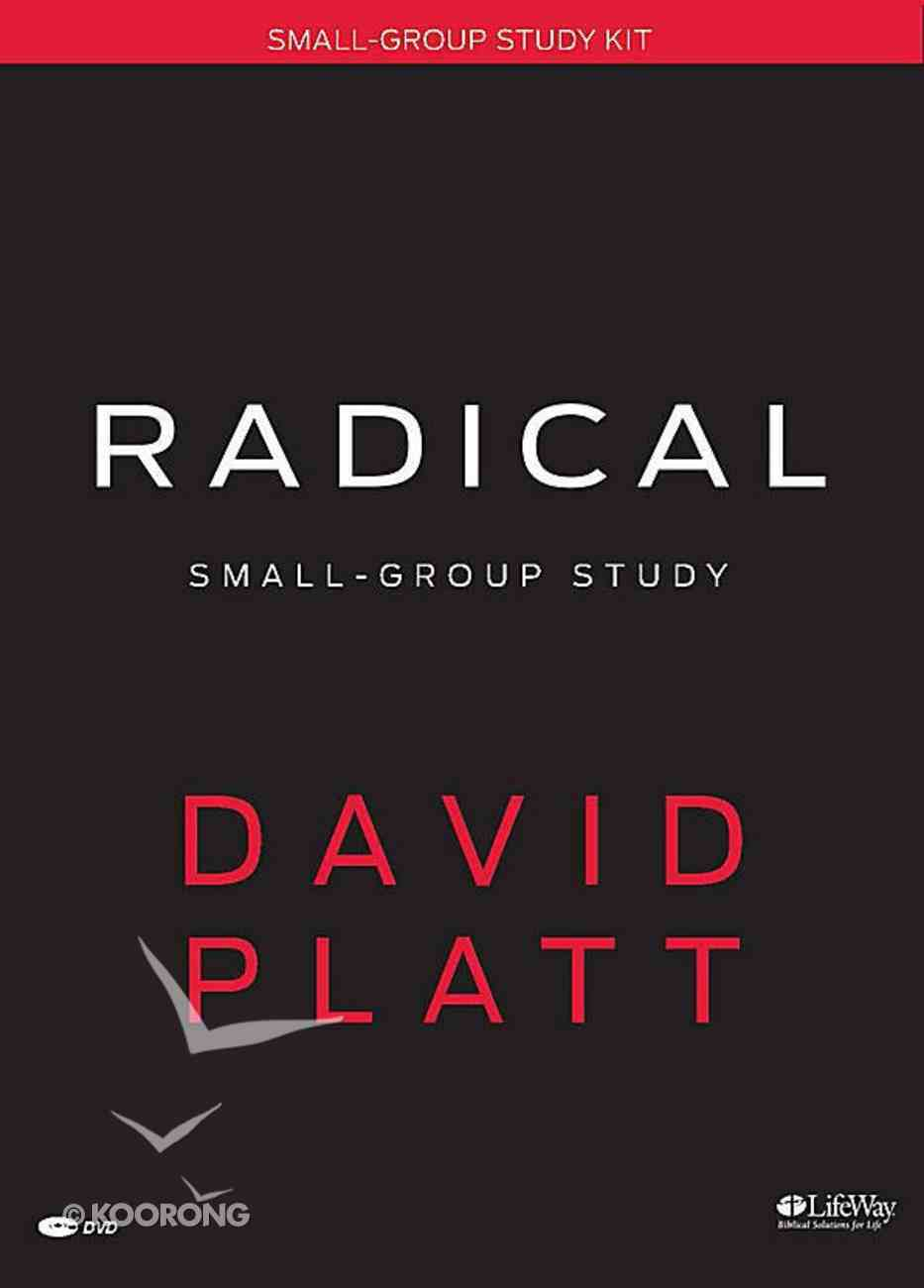 Radical: Small Group Study (Leader Kit) Pack